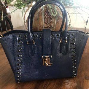 New Navy Lauren Ralph Lauren Handbag